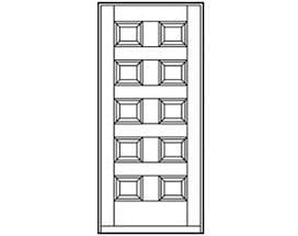Andersen Entry Door Style 197