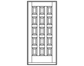 Andersen Entry Door Style 198
