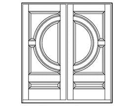 Andersen Entry Door Style 199