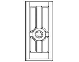 Andersen Entry Door Style 202