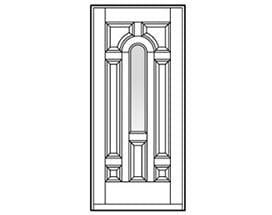 Andersen Entry Door Style 203