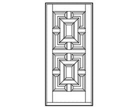 Andersen Entry Door Style 206