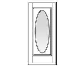 Andersen Entry Door Style 207
