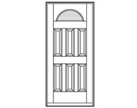 Andersen Entry Door Style 209