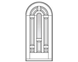 Andersen Entry Door Style 213