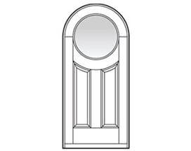 Andersen Entry Door Style 214