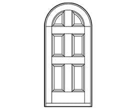 Andersen Entry Door Style 218