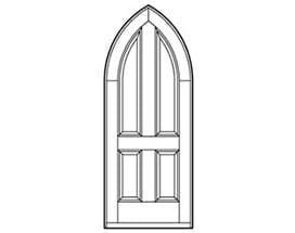 Andersen Entry Door Style 224