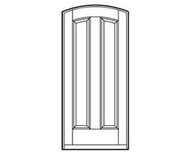 Andersen Entry Door Style 229