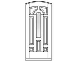 Andersen Entry Door Style 230