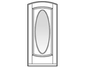 Andersen Entry Door Style 231