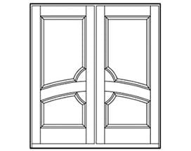 Andersen Entry Door Style 247