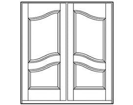 Andersen Entry Door Style 261