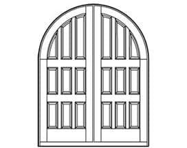 Andersen Entry Door Style 262