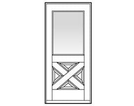 Andersen Entry Door Style 272