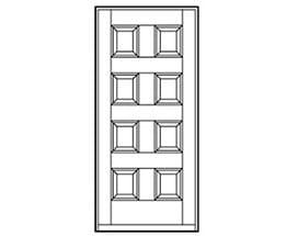 Andersen Entry Door Style 275