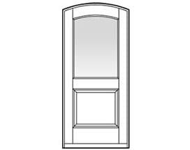 Andersen Entry Door Style 321