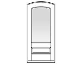 Andersen Entry Door Style 322