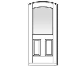 Andersen Entry Door Style 323