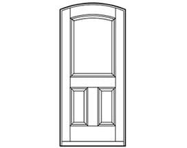 Andersen Entry Door Style 325