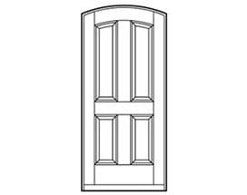 Andersen Entry Door Style 326