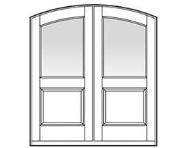 Andersen Entry Door Style 329