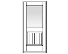 Andersen Entry Door Style 334