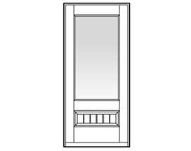 Andersen Entry Door Style 335