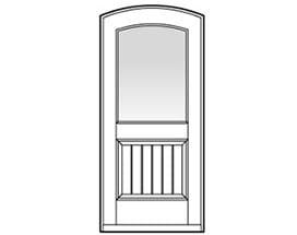 Andersen Entry Door Style 337