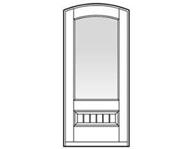 Andersen Entry Door Style 338