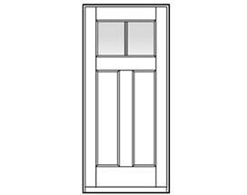 Andersen Entry Door Style 403 with grilles