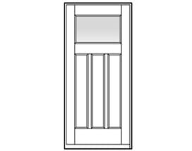 Andersen Entry Door Style 404