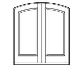 Andersen Entry Door Style 510