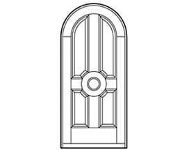 Andersen Entry Door Style 603