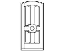 Andersen Entry Door Style 604
