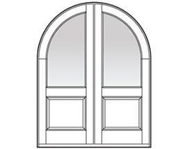 Andersen Entry Door Style 620