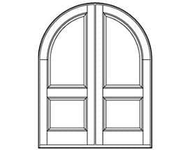 Andersen Entry Door Style 621
