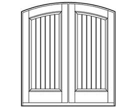 Andersen Entry Door Style 632