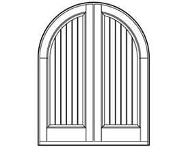 Andersen Entry Door Style 633