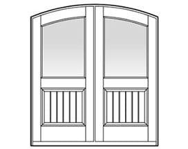 Andersen Entry Door Style 637