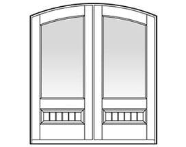 Andersen Entry Door Style 638