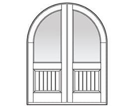 Andersen Entry Door Style 639