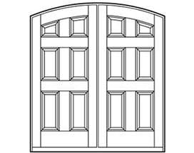 Andersen Entry Door Style 640