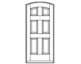 Andersen Entry Door Style 641