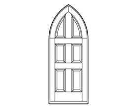 Andersen Entry Door Style 642