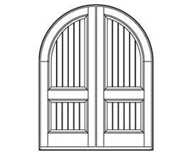 Andersen Entry Door Style 652
