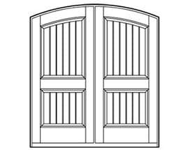 Andersen Entry Door Style 654