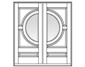 Andersen Entry Door Style 655