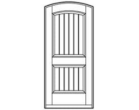 Andersen Entry Door Style 656
