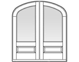 Andersen Entry Door Style 657
